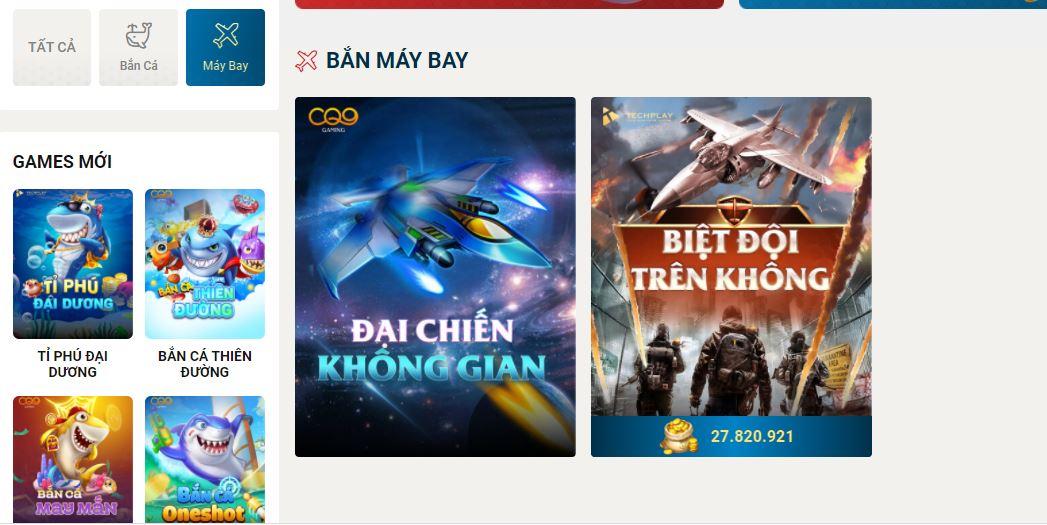 Đại chiến không gian - Game bắn máy bay Sin88.com 2