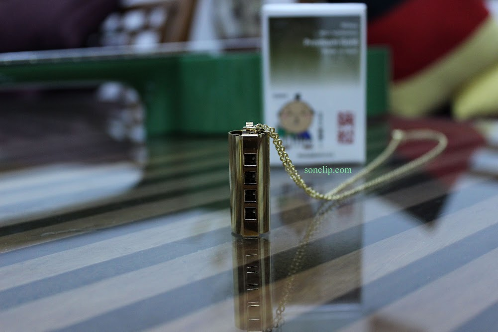 Kèn Harmonica Mini - Premium Gold