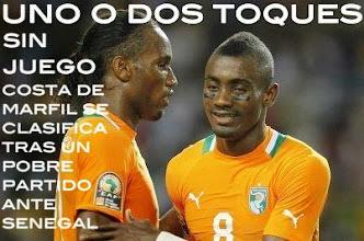 Photo: A punto ha estado Senegal de remontar su eliminatoria ante una pobre Costa de Marfil. Los Elefantes al Mundial