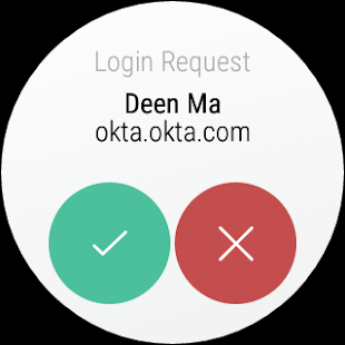 Okta Verify- screenshot thumbnail