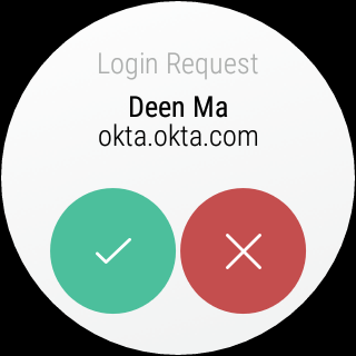 Okta Verify- screenshot