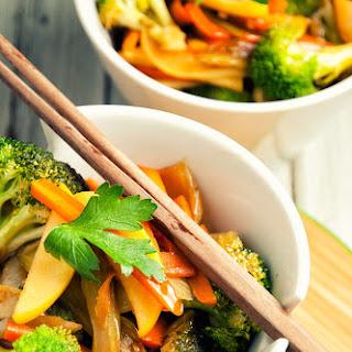 Apple and Vegetable Stir-Fry.