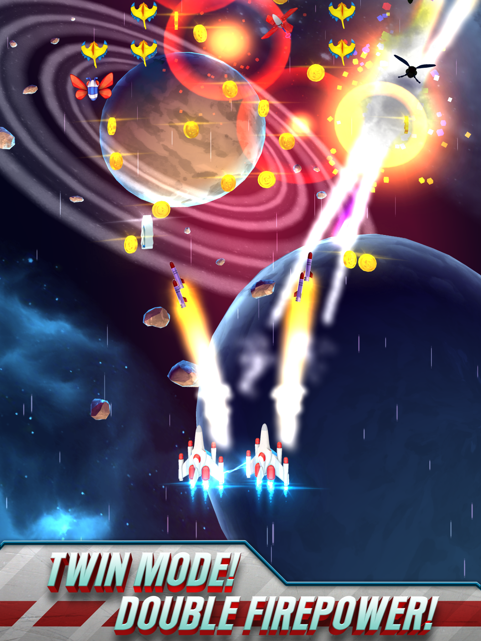 Galaga Wars screenshot #8