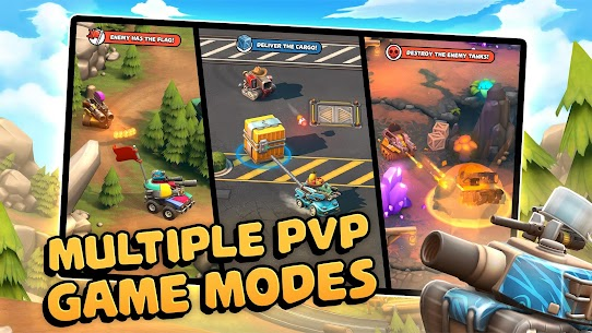 Pico Tanks: Multiplayer Mayhem MOD (Unlimited Purchases) 2