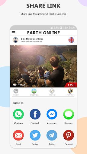 Earth Online Live World Webcams screenshot 4