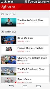 ESPN- screenshot thumbnail