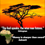 African Proverbs Deluxe Icon