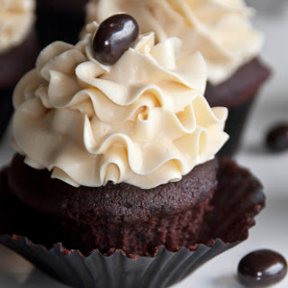 Dark Chocolate Mocha Cupcakes