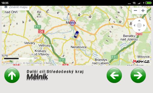 Projeď Česko - náhled