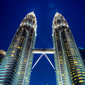Petronas twins by Sanjeev Goyal - Buildings & Architecture Other Exteriors ( get, set, run, and, go )