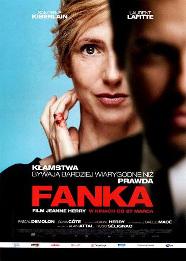 Przód ulotki filmu 'Fanka'