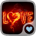 Fire ice Hearts Wallpapers icon