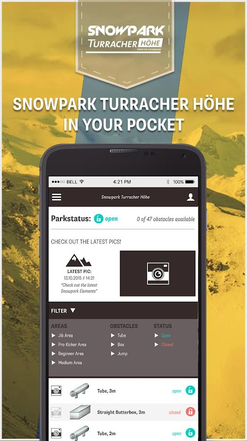 Snowpark Turracher Hoehe- screenshot