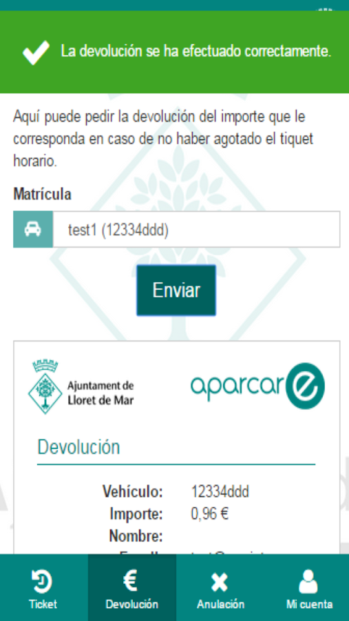 AparcarE- screenshot