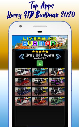 Livery HD Budiman 2020 1.0 screenshots 6
