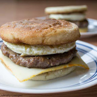 Sausage Muffin With Egg And Cheese