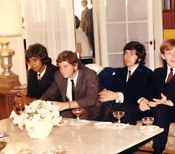 Photo: At an Atherton party L-R: Bob Aguirre, Lindsey Buckingham, Javier Pacheco (1968)