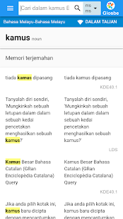 Bahasa Melayu-Bahasa Melayu Kamus - náhled