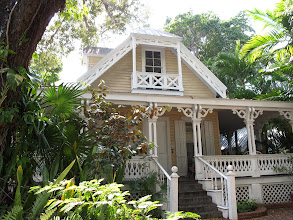 Photo: Typical house with surround verandah.