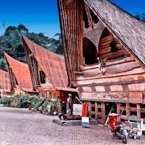 The House of Kings of Batak Ethnic in Samosir Toba, Sumatra, Indonesia by Basuki Mangkusudharma - Buildings & Architecture Homes ( buildings )