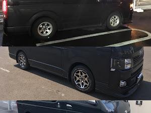 ハイエースバン  スーパーGL 2.5DT 4WDのカスタム事例画像 ゆーきさんの2018年08月21日12:03の投稿