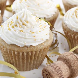 Vegan Champagne Cupcakes.