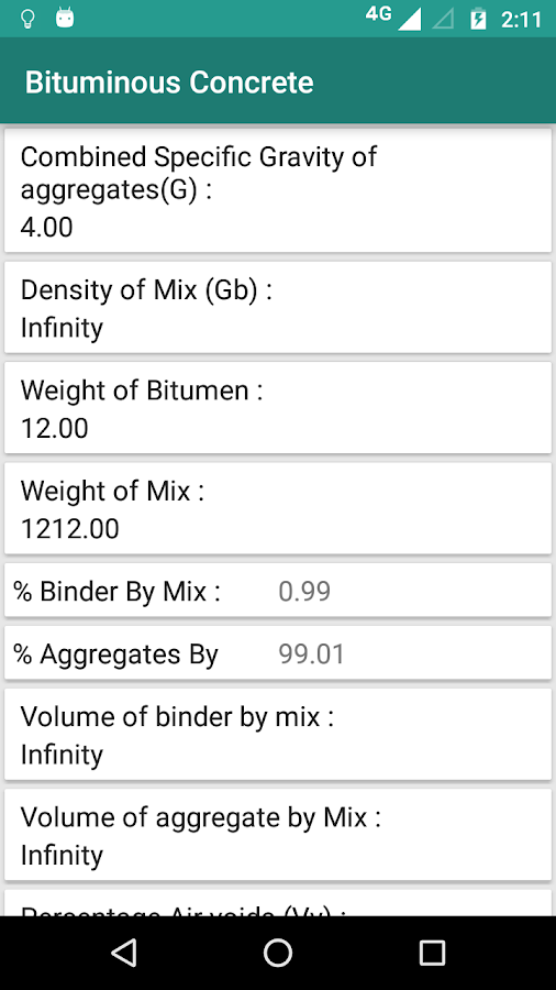 Civil material tester android apps on google play civil material tester screenshot sciox Images
