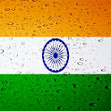 India flag live wallpaper icon