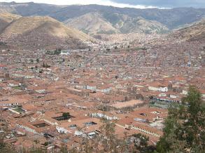 Photo: クスコ 山の中腹まで家が増えてる