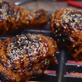 Sweet Soy Bourbon Chicken.