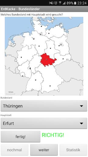 ErdKacke-Deutsche Bundeslu00e4nder 1.0 screenshots 1