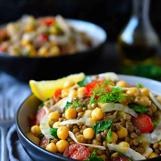 Bean and Lentil Salad Recipe