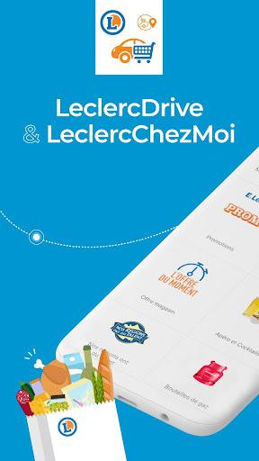 LeclercDrive & LeclercChezMoi 9.2.4 screenshots 1