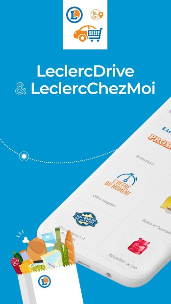 LeclercDrive & LeclercChezMoi Android App Screenshot
