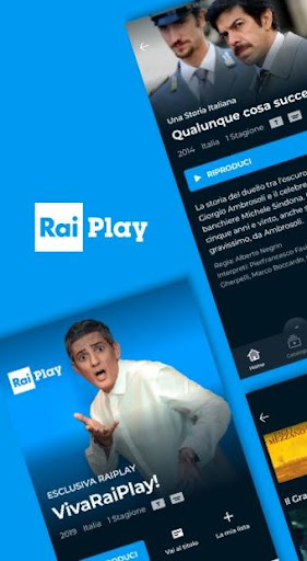RaiPlay screenshot 1