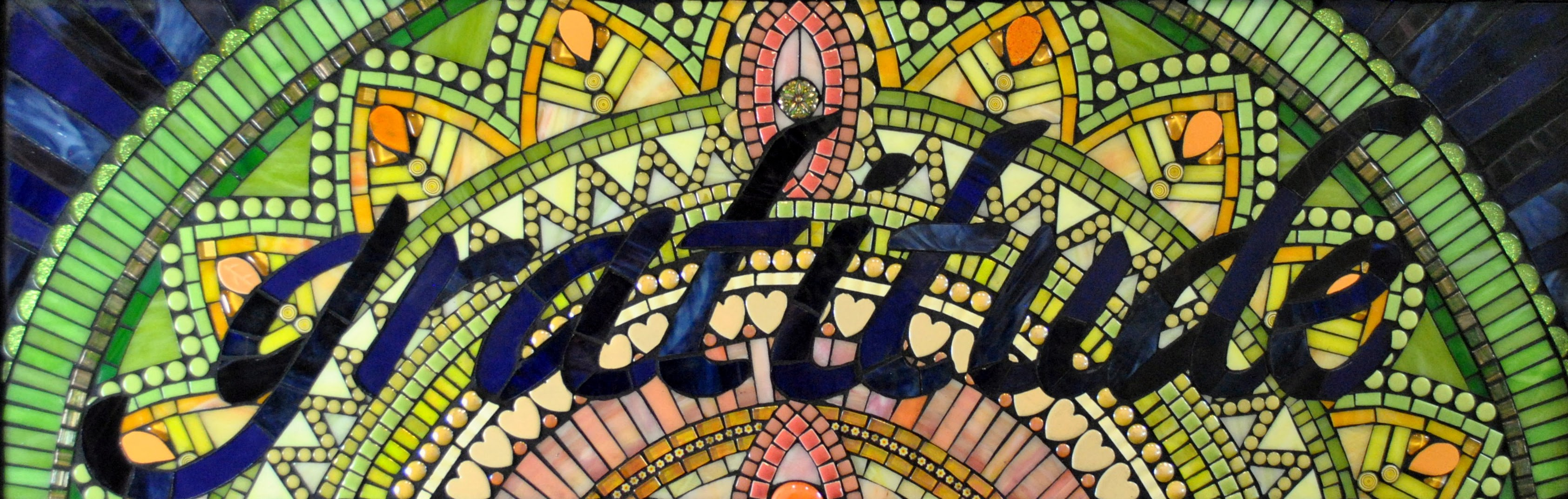 Gratitude Mandala by Brenda Pokorny