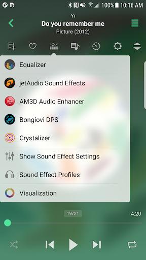 jetAudio HD Music Player Plus screenshot 1