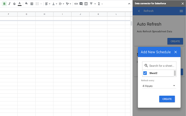 Data connector for Salesforce - G Suite Marketplace