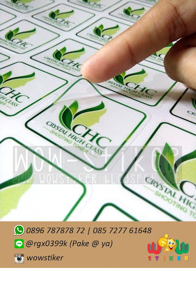 Sticker Skincare Murah