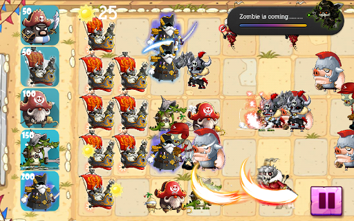 Pirate vs Zombie