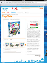 Photo: So, I visited the Hasbro website next. My kids think this Game of Life zAPPed looks like so much fun! We are going to try to find it at Walmart but when I clicked the Where To Buy button, Walmart does not show up on the list.