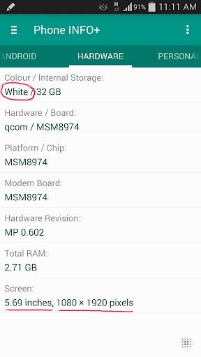 Phone INFO+ ★Samsung★ screenshot 5