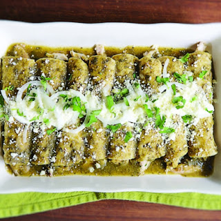 A Roasted Tomatillo Enchiladas Recipe to Know by Heart