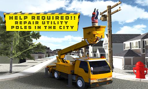 Urban City Services Excavator