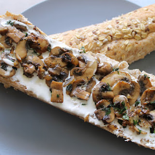 Mushroom & Goat Cheese Sandwich Recipe