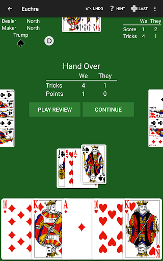 Euchre by NeuralPlay screenshots 16