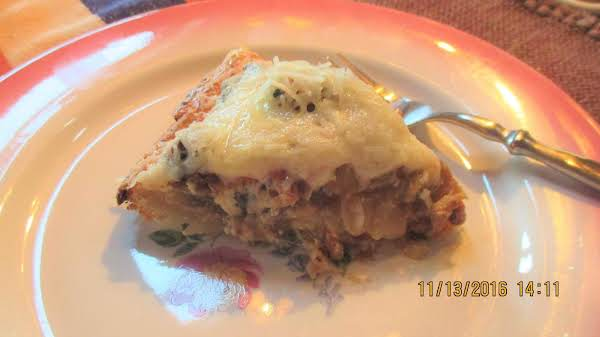 Manly Quiche/omelet Pie (real Men Do Eat Quiche) Recipe