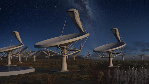 The SKA is not a single telescope, but a collection of telescopes, called an array, to be spread over long distances.