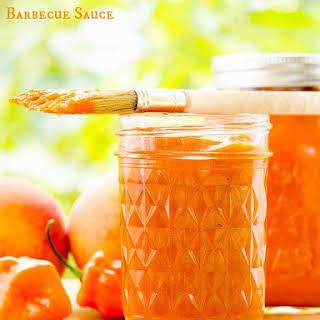 Habanero Peach Barbecue Sauce.