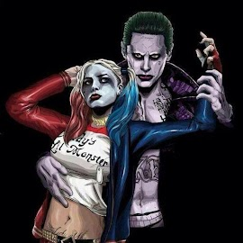 Joker and Harley HD Lock Screen Wallpaper